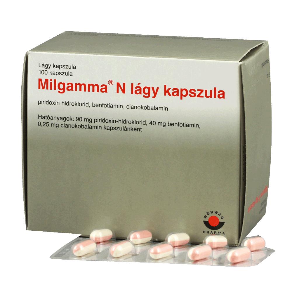 Milgamma bevont tabletta 50 db