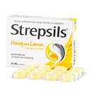 STREPSILS HONEY AND LEMON SZOP.TABL. 24X